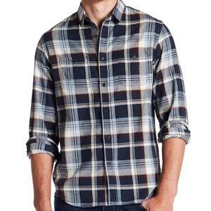 Howe Rag & Stone Plaid Long Sleeve NWT Shirt L